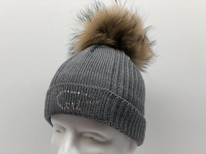 c9a0941ef2c Angel Fur Crystal Grey Hat 30388-006. Was  154.99 now  76.99