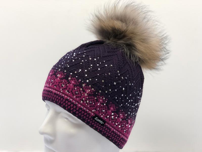 03da13fe7e6 Connor Fur Crystal Plum Hat 30386-445  264.99