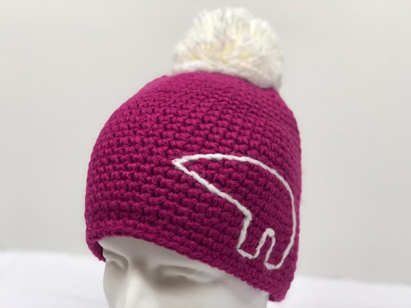 9b814d43ff5 Jay Pompon Pink Hat 7705-045. Was  64.99 now  31.99