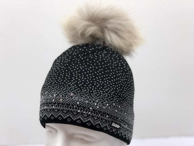 26bced829d5 Yaelle Fur Crystal Black Hat 30511-009  209.99